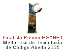 Finalist Best Open Source Tecnology USE 2005